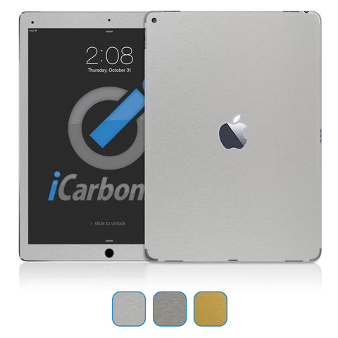 "iPad Pro 12.9"" Skins - Brushed Metal - iCarbons - 1"
