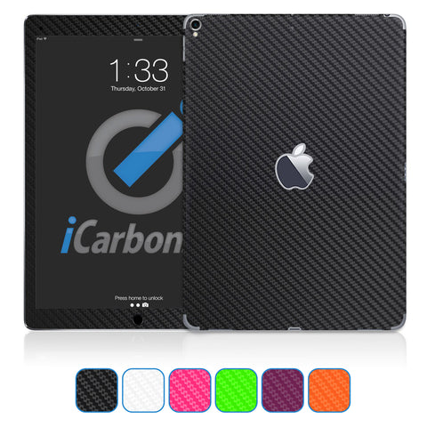 "iPad Pro 12.9"" Skins, 2nd Gen (Mid 2017 - Current) - Carbon Fiber"