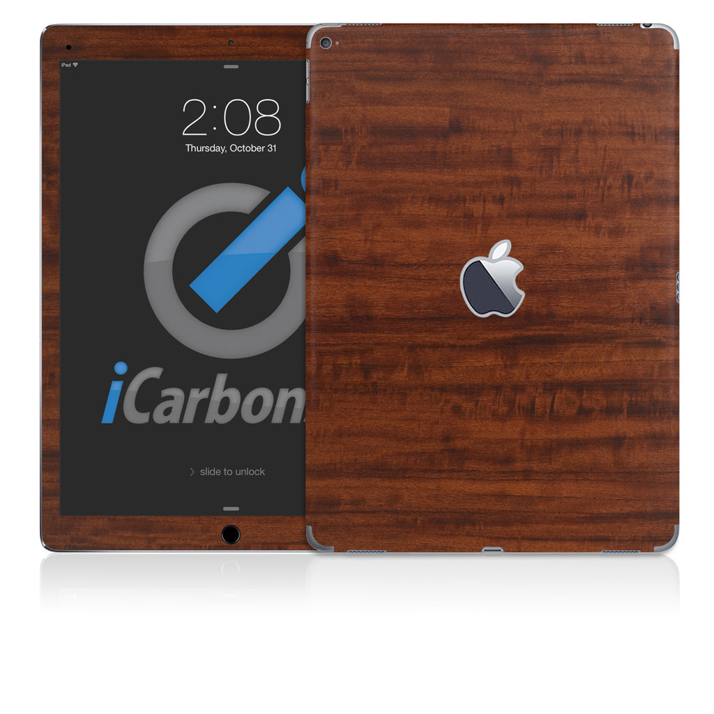 "iPad Pro 12.9"" Skins - Wood Grain - iCarbons - 1"