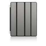 iPad Smart Cover Skins - Brushed Metal - iCarbons - 4