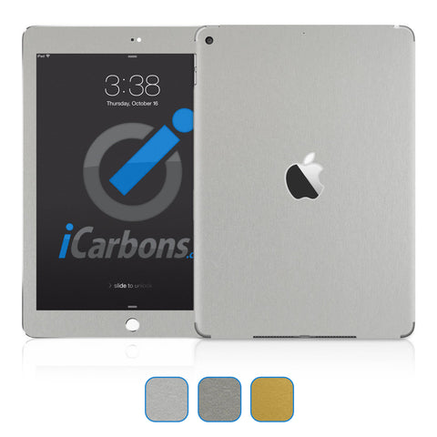iPad 9.7 inch Skins (Non-Pro) 2017-Current - Brushed Metal