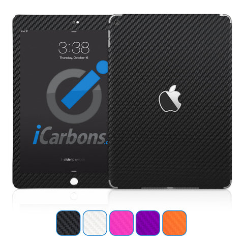 iPad 9.7 inch Skins (Non-Pro) 2017-Current - Carbon Fiber