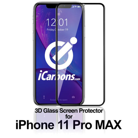 iPhone 11 Pro Max 3D GLASS (#1 Screen Protector)