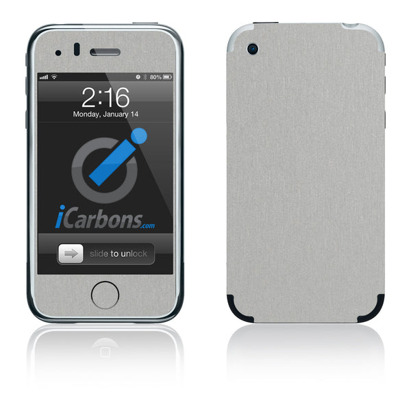 iPhone 2G - Brushed Aluminum - iCarbons