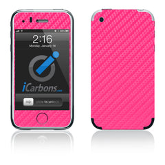 iPhone 2G - Pink Carbon Fiber