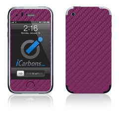 iPhone 2G - Purple Carbon Fiber