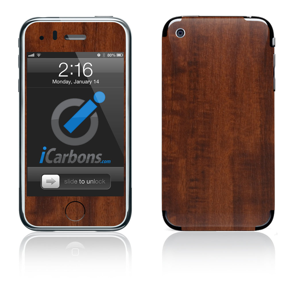 iPhone 3G/3GS - Dark Wood - iCarbons