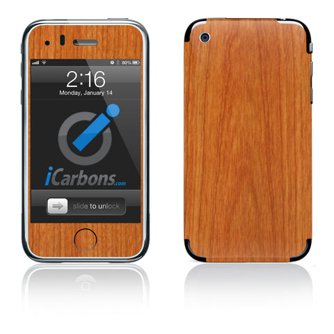 iPhone 3G/3GS - Light Wood - iCarbons