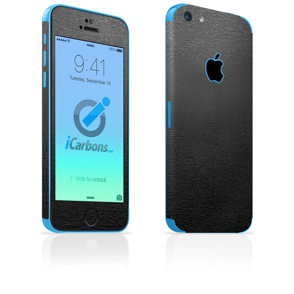 iPhone 5C Skins - Leather - iCarbons - 2