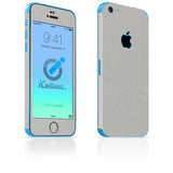 iPhone 5C Skins - Brushed Metal - iCarbons - 2