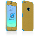 iPhone 5C Skins - Brushed Metal - iCarbons - 4