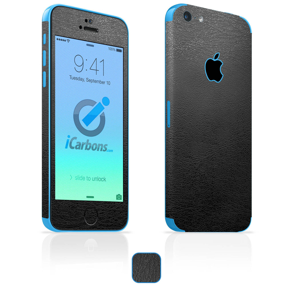 iPhone 5C Skins - Leather - iCarbons - 1