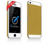 iPhone 5S - SE Brushed Gold/White Carbon Fiber - iCarbons - 2