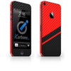 Rally Tilt iPhone 5/5S/SE Skin - iCarbons - 4