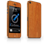 iPhone 5 Skin - Light Wood - iCarbons - 2
