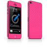 iPhone 5 Skin - Pink Carbon Fiber - iCarbons - 2