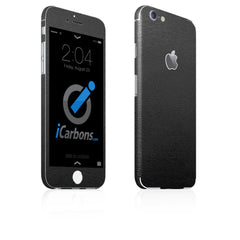 iPhone 6 / 6S Skin - Black Leather