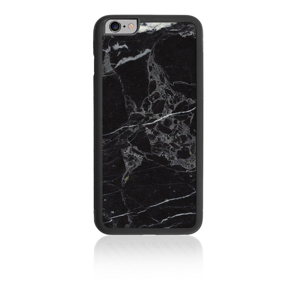 iPhone HD Custom Case - Black Marble - iCarbons