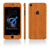 iPhone 7 Skins - Wood Grain - iCarbons - 3