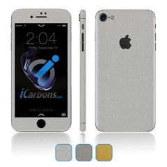iPhone 7 Skins - Brushed Metal