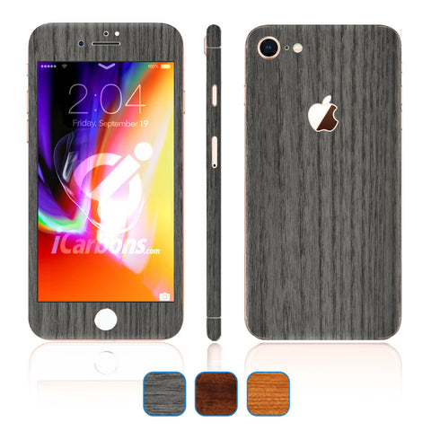 iPhone 8 Skins - Wood Grain