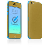 iPhone 5C Skins - Brushed Metal - iCarbons - 5