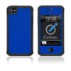 iPhone 4 / 4S HD Skin Case - Carbon Fiber - iCarbons - 5