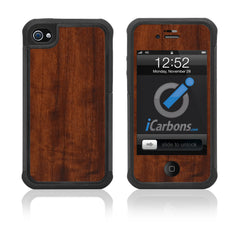iPhone 4 / 4S HD Skin Case - Wood Grain