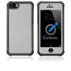 iPhone 5 / 5S HD Skin Case - Brushed Metal