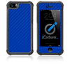iPhone 5 / 5S HD Skin Case - Carbon Fiber - iCarbons - 5