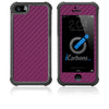 iPhone 5 / 5S HD Skin Case - Carbon Fiber - iCarbons - 7