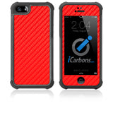 iPhone 5 / 5S HD Skin Case - Carbon Fiber - iCarbons - 2
