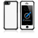 iPhone 5 / 5S HD Skin Case - Carbon Fiber - iCarbons - 3