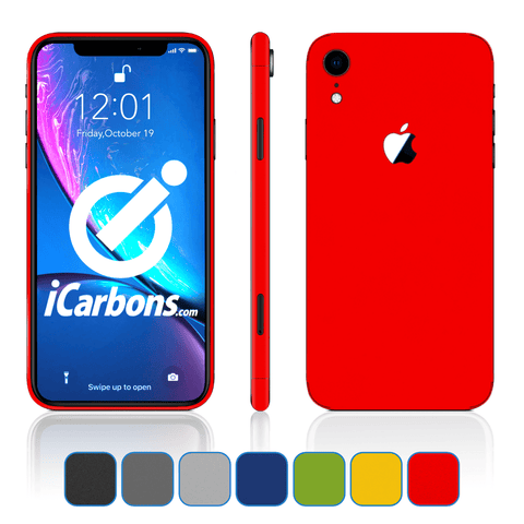 iPhone XR Skins - Matte Series