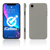 iPhone XR Skins - Brushed Metal