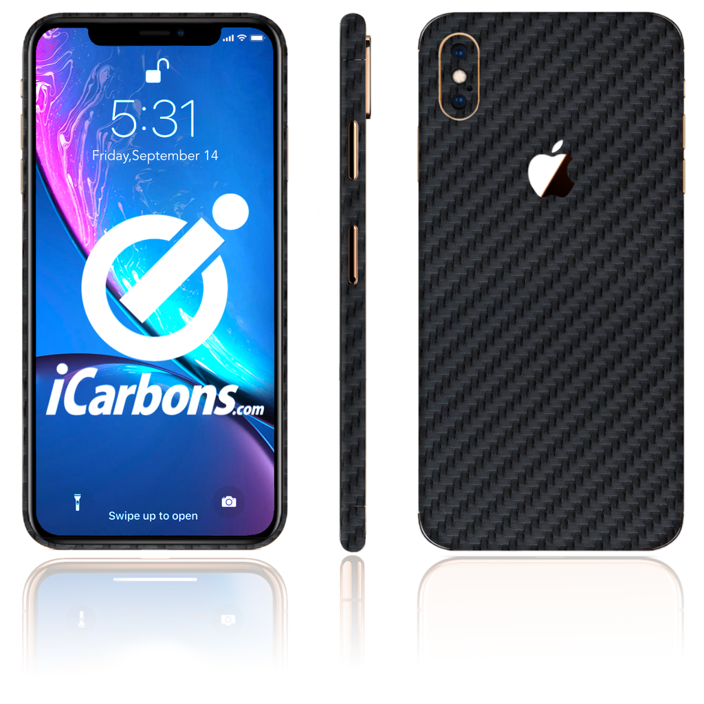 new style a55ff 70104 Best iPhone Xs Max Skins - Carbon Fiber