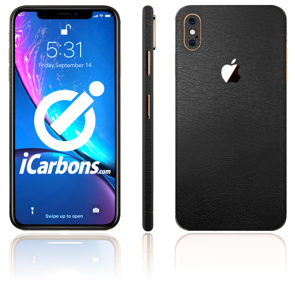 iPhone Xs Max Skins - Leather