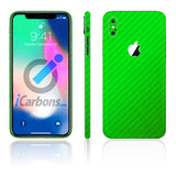 iPhone X Green Carbon