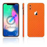 iPhone X Orange Carbon