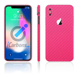 iPhone X Pink Carbon