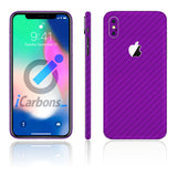iPhone X Purple Carbon