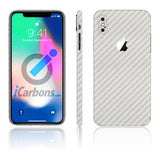 iPhone X White Carbon
