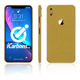 iPhone Xs Skins - Brushed Metal