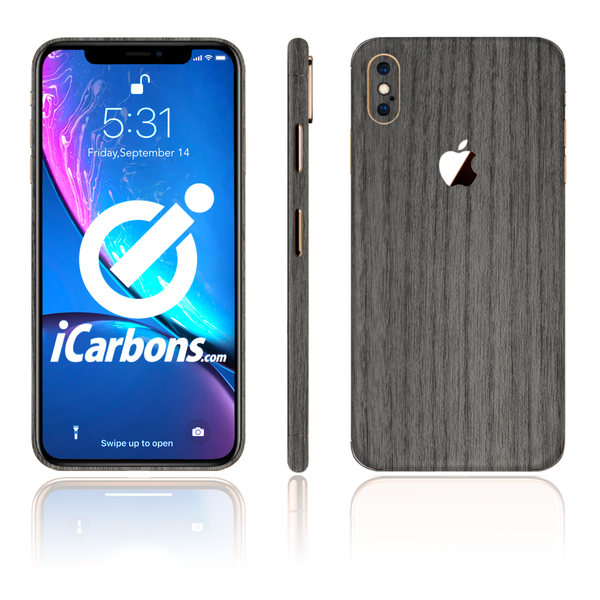 iPhone Xs Skins - Wood Grain