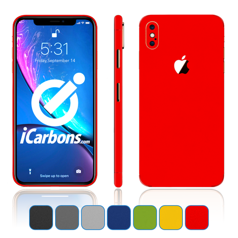iPhone Xs Skins - Matte Series