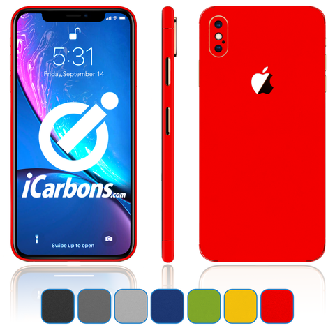 iPhone Xs Max Skins - Matte Series