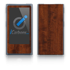 iPod Nano 7th Gen Skins - Wood Grain