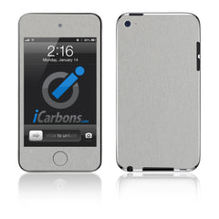iPod Touch 1st - 4th Gen - Brushed Aluminum