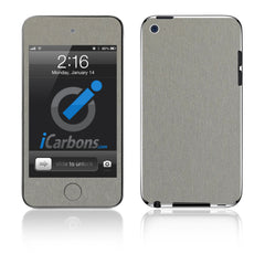 iPod Touch 1st - 4th Gen - Brushed Titanium
