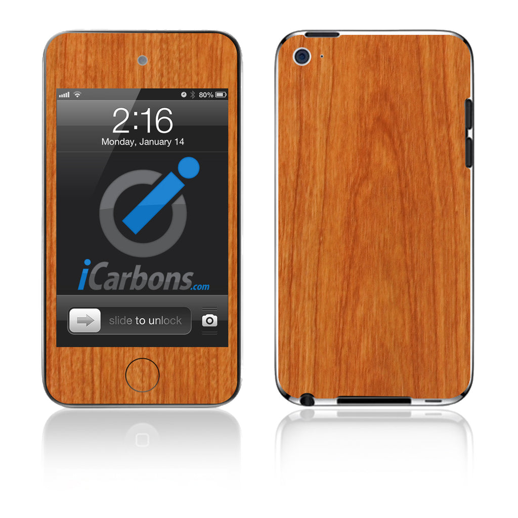 iPod Touch 1st - 4th Gen - Light Wood - iCarbons